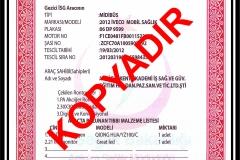 gezici röntgen aracı izin belgesi